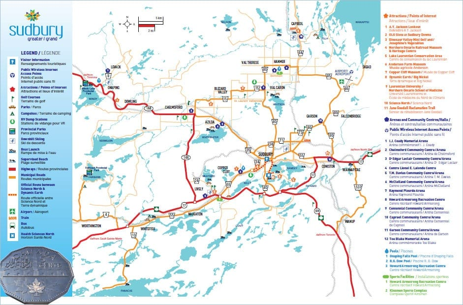 Visitor Guide Map